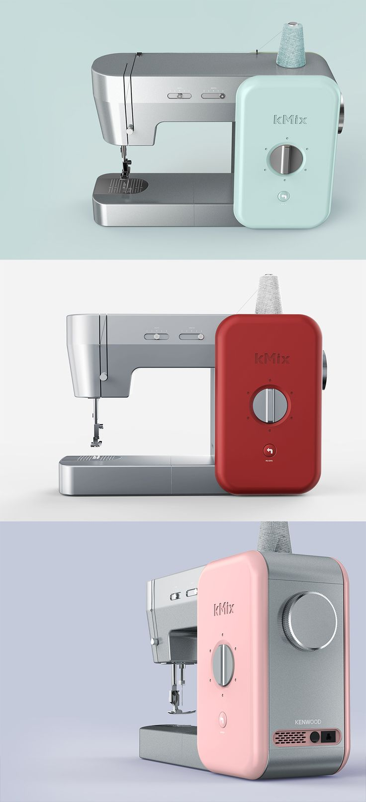PDF HAUS_ Republic of Korea Design Academy / Product design / Industrial design / 工业设计 / 产品设计/ 空气净化器 / 산업디자인 / sewing machie / kmix / kenwood