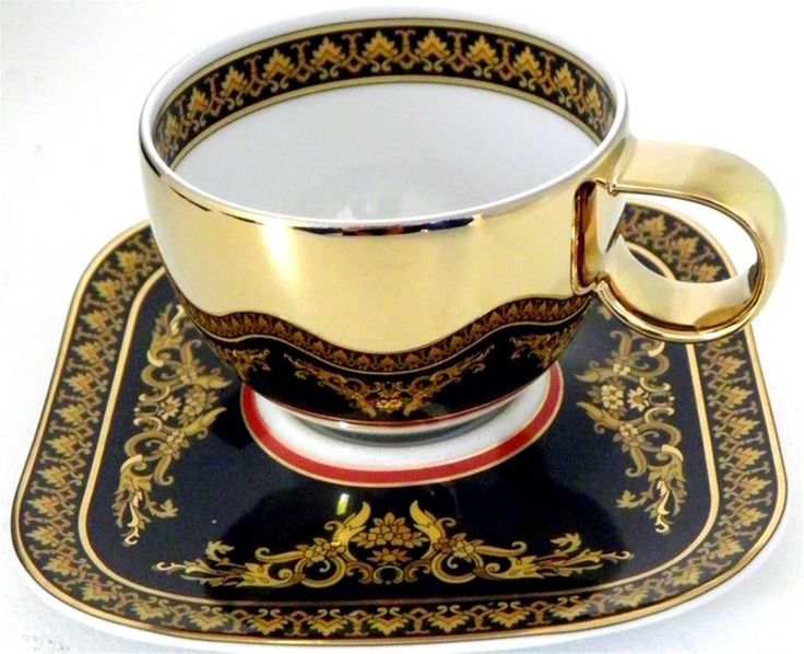 VERSACE Medusa Expresso Cup and Saucer