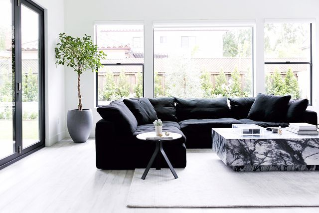 Best 25 Black Couches Ideas On Pinterest Black Couch