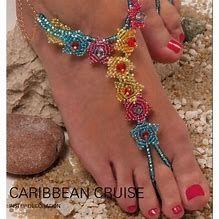 Image result for Free Barefoot Beaded Sandal Patterns