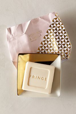 Fringe Studio Soap & Dish Set- love the paper and dish!