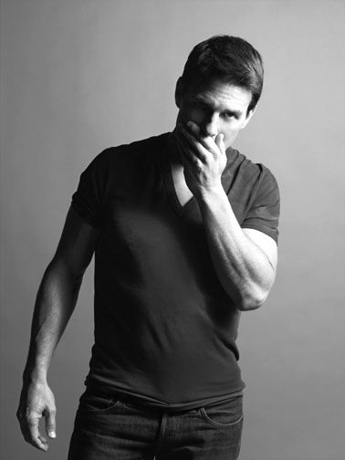 Tom Cruise, just being hot.