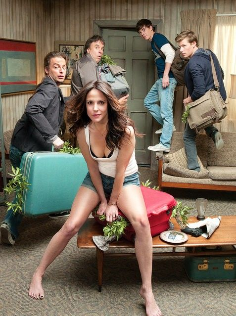 Weeds... The series finale was on Sunday night... I thought it ended appropriately.