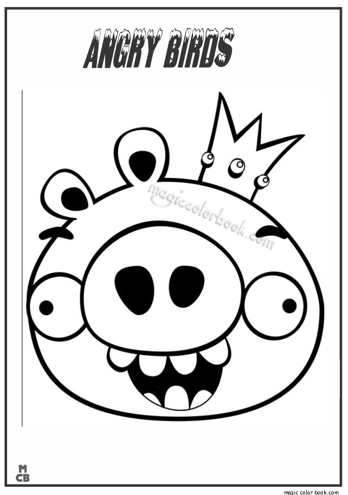 28 best Angry Birds Coloring pages images on Pinterest | Angry birds ...