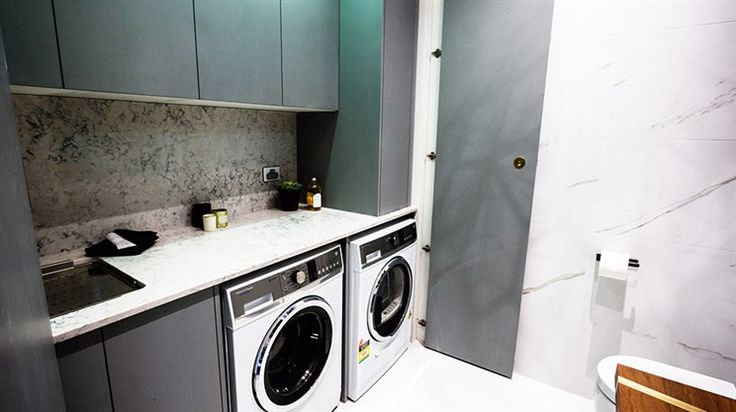 In Pictures: Michael + Carlene's sexy laundry | The Block Glasshouse | 9jumpin