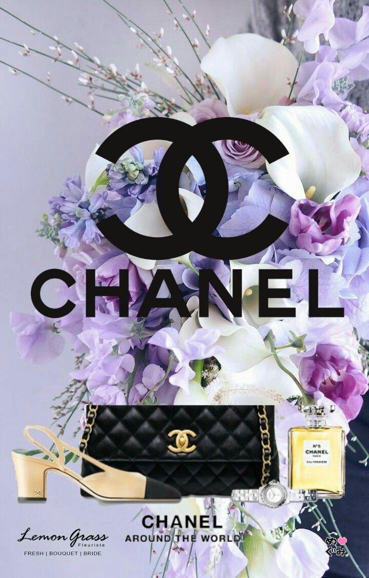 Epingle Par Vicky Michelle Ellam Sur Chanel Fond D Ecran Telephone Fond Ecran Iphone Logo De Luxe