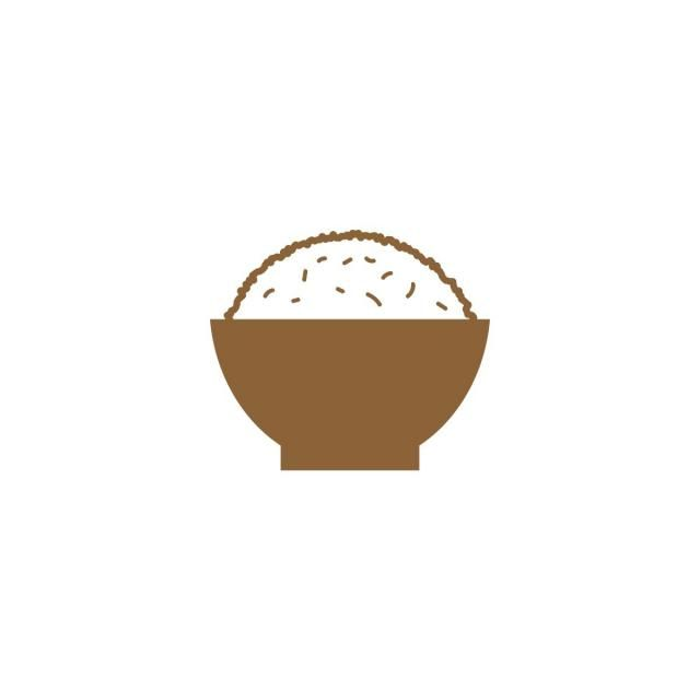 Simple Rice On A Bowl Silhouette Logo Design Vector Logo Icons Simple Icons A Icons Png And Vector With Transparent Background For Free Download Logo Design Simple Logo Design Graphic Design