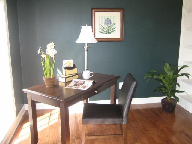 Simple Office Staging, Maybe In The Corner Of The Guest Room