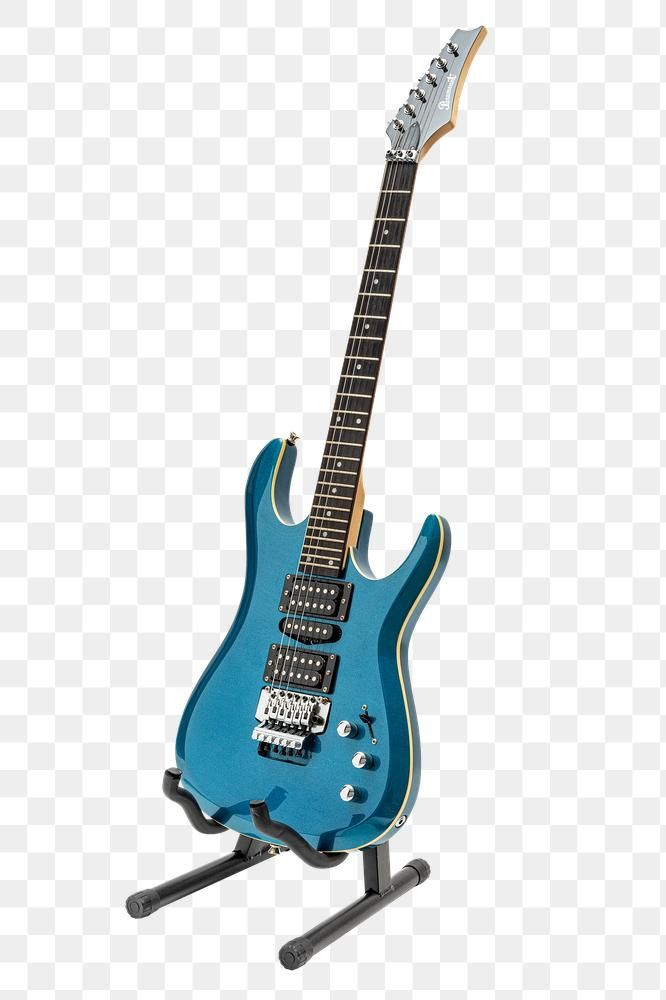 Blue Paramount Electric Guitar On A Black Guitar Stand January 29 2020 Bangkok Thailand Free Image By Rawpixel Com Electric Guitar Guitar Guitar Stand