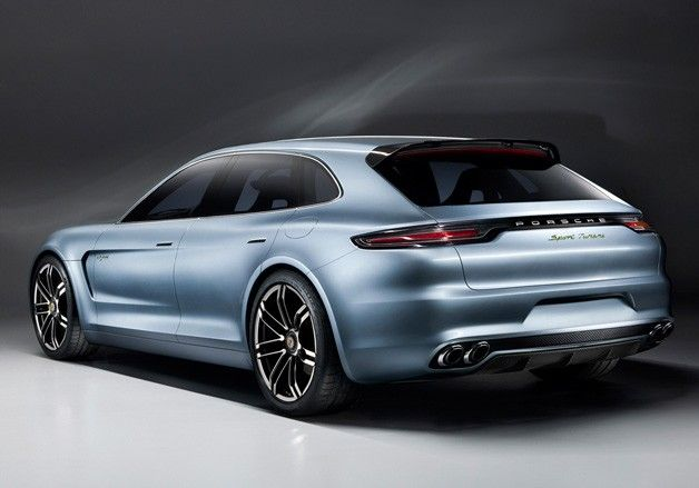 Porsche Panamera Sport Turismo Concept - rear three-quarter view