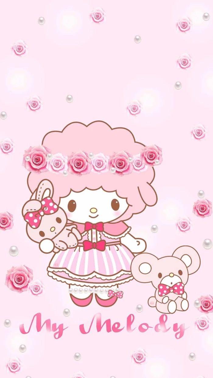 My Sweet Piano My Melody Wallpaper Sanrio Wallpaper Hello Kitty Printables