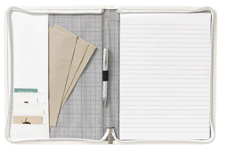 Document folio white