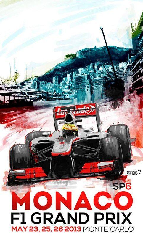 knitskii: Grand Prix F1 Monaco posters 1929-2013