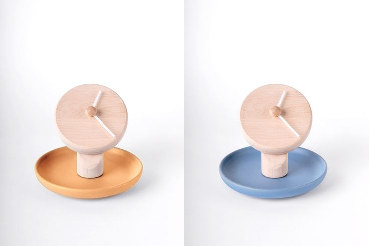 Totide' - table clock - design Federica Bubani
