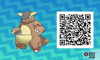 Kangaskhan PLEASE FOLLOW ME FOR MORE DAILY NEWS ABOUT GAME POKÉMON SUN AND MOON. SIGA PARA MAIS NOVIDADES DIÁRIAS SOBRE O GAME POKÉMON SUN AND MOON. Game qr code Sun and moon código qr sol e lua Pokémon Nintendo jogos 3ds games gamingposts caulofduty gaming gamer relatable Pokémon Go Pokemon XY Pokémon Oras