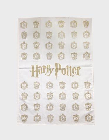 Tea-Towel House Crests Small Pattern | The Harry Potter Shop at Platform 9 3/4