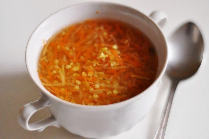 Czarna wisienka: Oczyszczająca zupa jaglana | najlepsza! | detoks jaglany