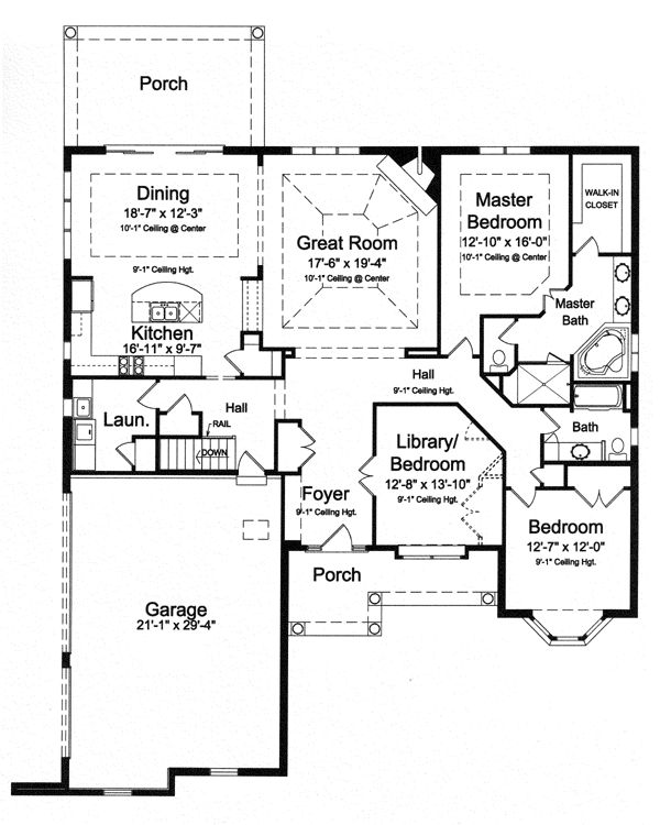 42 best house plans images on pinterest my house for 50188 craftsman