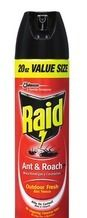 All Raid® and OFF!® Products from Lowe's  (20% Off) -