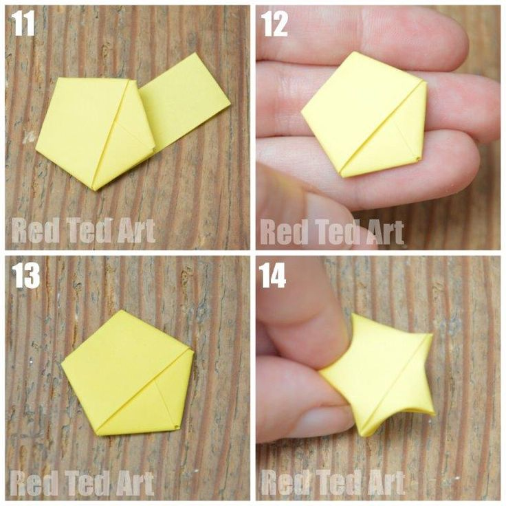 Origami Lucky Stars - such an adorable little paper craft