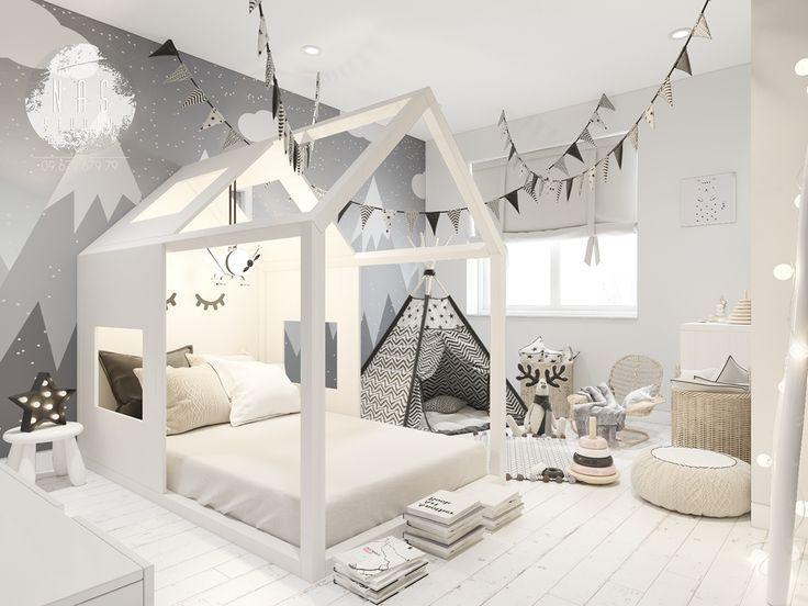 Kinderzimmer im skandinavischen Stil auf Behance #behance #childrenroomdecorati