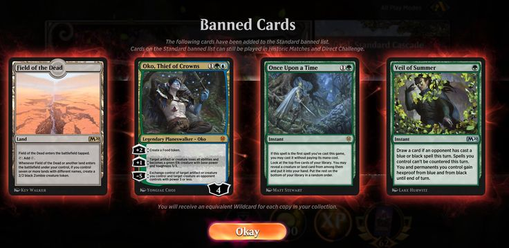 Oko Has Been Banned From Magic The Gathering Standard Play Which Includes Arena Magic The Gathering Modern Nursery Furniture The Gathering