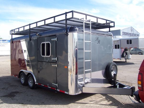 Roof Racks For Horse Trailers   Google Search   Rambler On   Pinterest    Horse Trailers