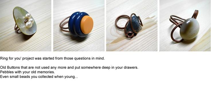Ringen maken van oude knopen, zo simpel  only1degree.org