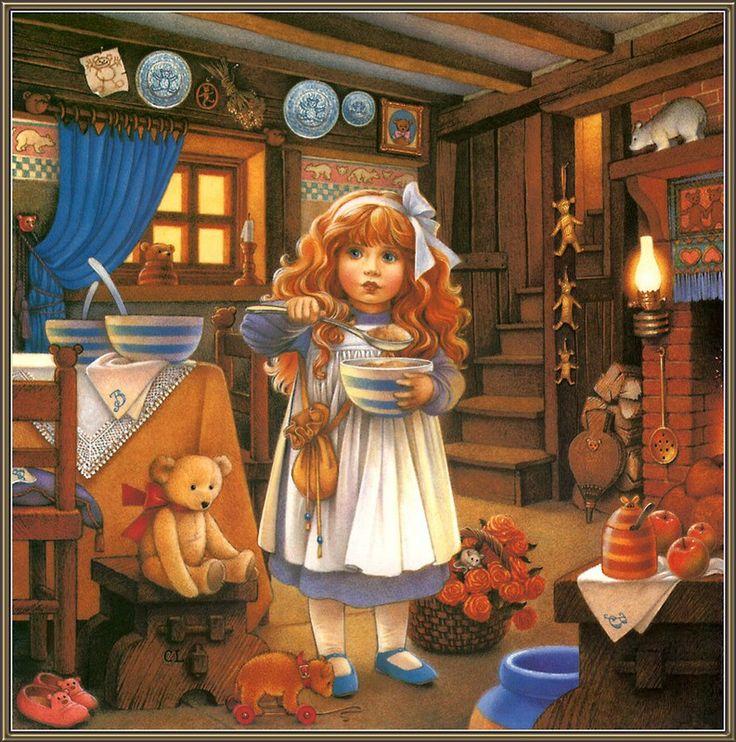Иллюстраторы - наши современники - Carol Lawson (Кэрол Лоусон) - Жизнь плюшевых медведей и сказочных героев - Изображения и картинки @ EX.UA