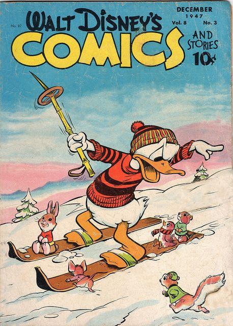Walt Disney Dell Comic, December, 1947