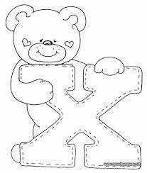 Resultado de imagen para letras con osos