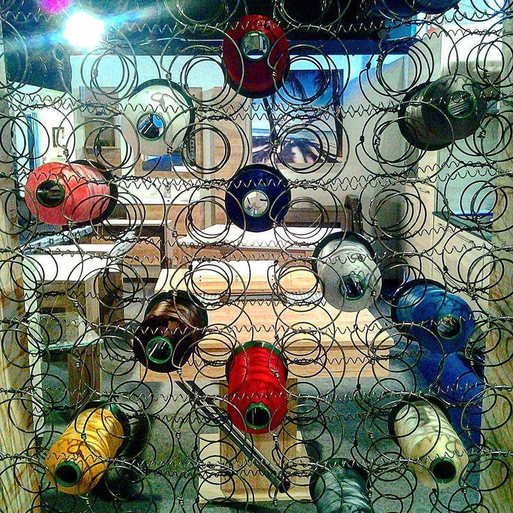 Venite a scoprire la bellezza del lavoro #artigiano a #mostrartigiano! #mostrart2015 #colours #colori #filo #arredi #arredamento #light #joy #happy