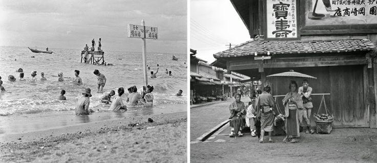 Journée à La Plage, Marché,… Découvrez En Photos Le Quotidien Des Japonais Durant L'ère Meiji