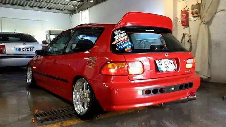 #Honda #Civic #Eg6 #Lowered #Stance #Fitment #Camber #Clean #JDM