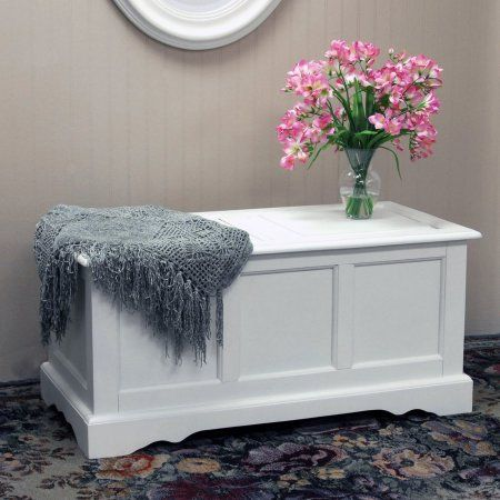 Carolina Chair And Table Camden Blanket Chest White In