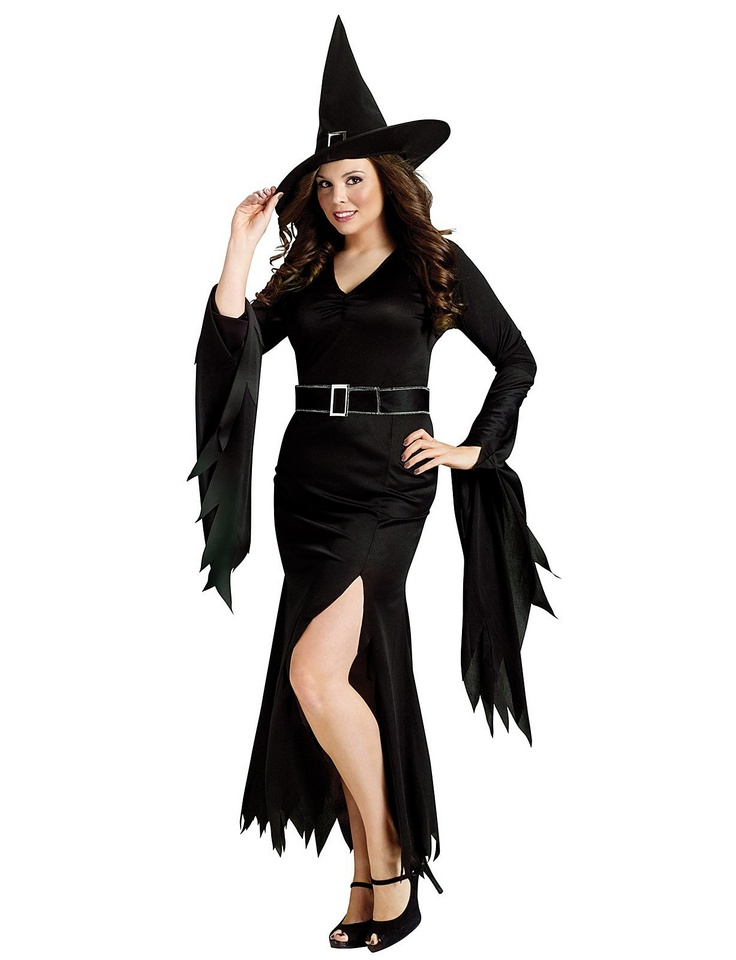 this gothic witch adult plus size costume is perfect for our ladies who like to be