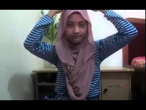 Cara Memakai Jilbab Segi Empat Yang Simple Untuk Sehari Hari
