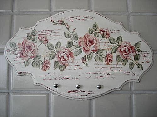 placa decorada