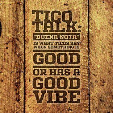 Tico Talk Buena Nota Rent Our Costa Rica Condo