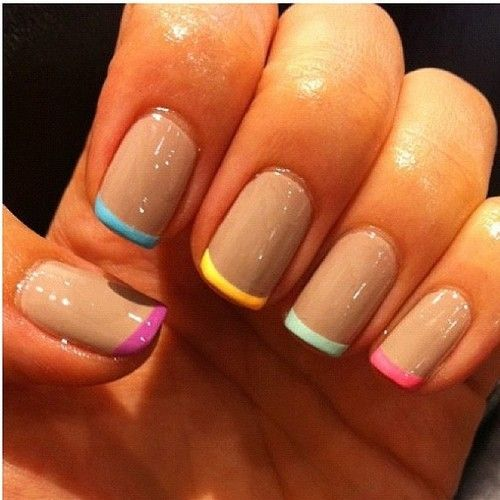 Loving this sassy look! Try it out using our new French Manicure Kit along with your favorite RCM colors. #nailtrends #summer #manicures #frenchmani