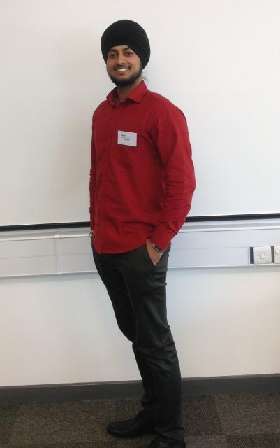 Graduate Plus attendee, Kulvir Singh, said 'it was an excellent experience.'