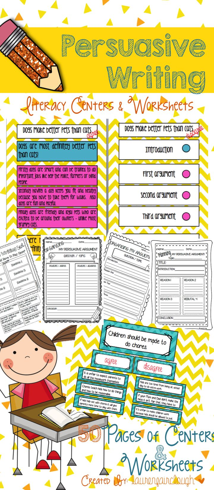 17 best images about persuasive writing early persuasive writing centres and worksheets 50 pages to teach your students all about writing