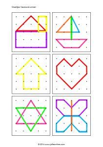 Raamfiguren -* Geobordvormen