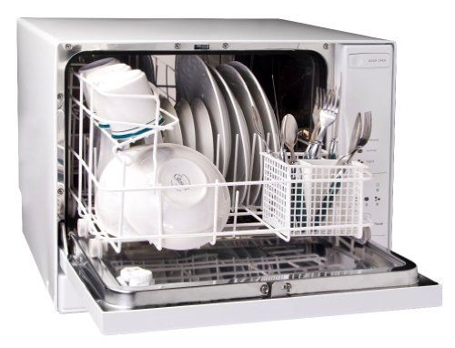 Haier HDC1804TW 4-Place-Setting Tabletop Dishwasher