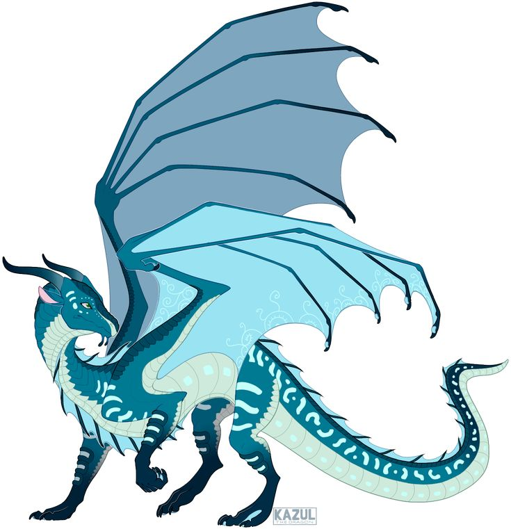 Это самый уравновешенный дракон из всех своих собратьев.