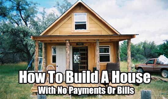 This small cabin was built for under $5000 just a few years ago. | How to Build a House with no Payments or Bills.  | Tiny Homes