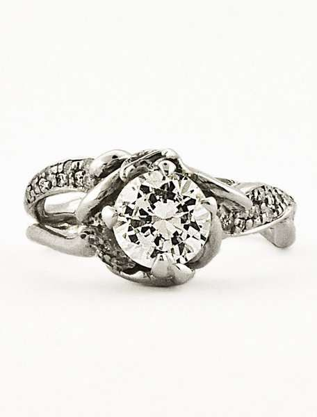 Organic Engagement Rings - Jewelry by Ken + Dana is Eco-Friendly, Ethical and Fabulous (GALLERY)