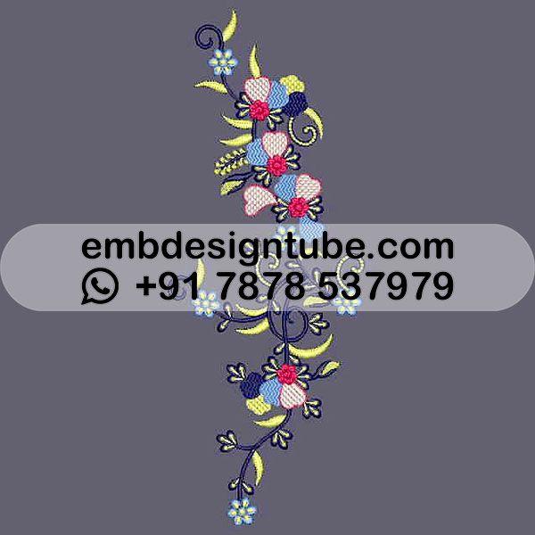 free retro flowers embroidery design 22761 flower embroidery designs embroidery designs retro flowers