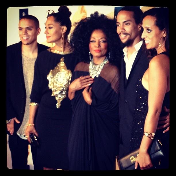 One of this year's Lifetime Achievement Award recipients Diana Ross & her children - @thegrammys | Webstagram
