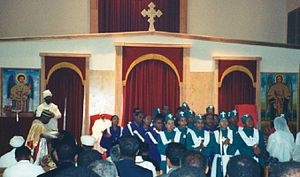 Ethiopian Orthodox Tewahedo Church - Wikipedia, the free encyclopedia